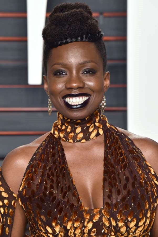 "<strong>ADEPERO ODUYE</strong> <br><br> Actress, <em>The Big Short</em> <br><br> ""So many! The first person who comes to mind is [politician, educator, and author] Shirley Chisholm. But overall, in Hollywood, I want to see more films and more TV shows that are led by women. I want to see more of that."""