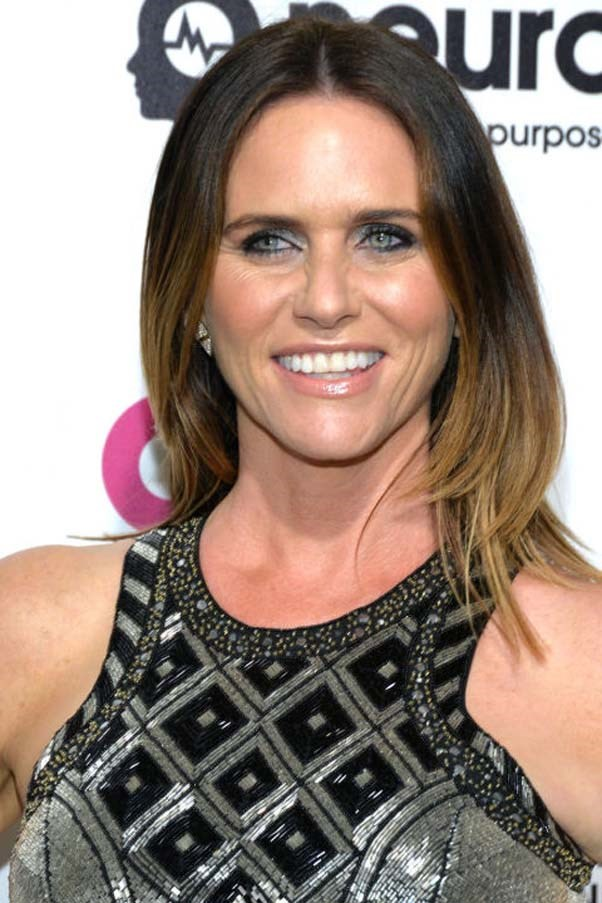 "<strong>AMY LANDECKER</strong> <br><br> Actress<br><br> ""I'm reading this book called The Mercury 13. My boyfriend [Bradley Whitford] optioned the rights to this book, actually, about these women who were trained to be astronauts. It's incredible...It's such a great story. He's pitching it right now, and I would love to see it made. I'd love to be in it, too, but I don't like to mix business with pleasure!"""