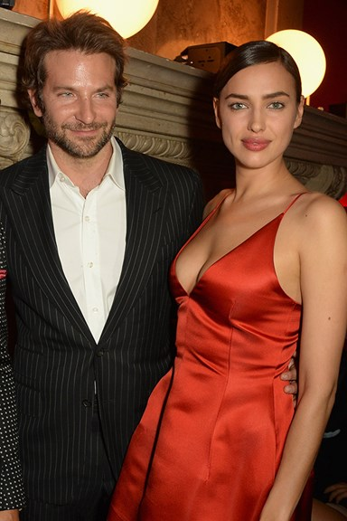 Irina Shayk and Bradley Cooper Make Their Red Carpet Debut