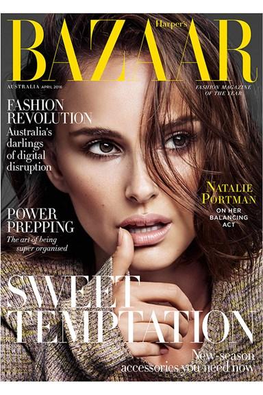 Natalie Portman is Our April Cover Star