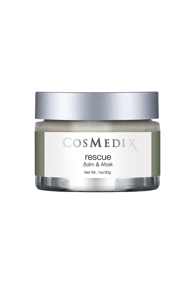 """<strong>Rescue balm and mask by Cosmedix</strong><br><br> """"This is one of my personal faves, I slather it on pre-sleep for a great dose of hydration. It's especially good for a day you face has been particularly pelted by the elements (sun/wind)."""" - <em>Anna Lavdaras, beauty writer</em><br><br> $59.40, <a href=""""http://www.adorebeauty.com.au/cosmedix/cosmedix-rescue-balm-mask.html?CAWELAID=255000110000065616&gclid=CLGPhcGBv8sCFQUHvAodrFcO5Q"""">Adore Beauty</a>"""