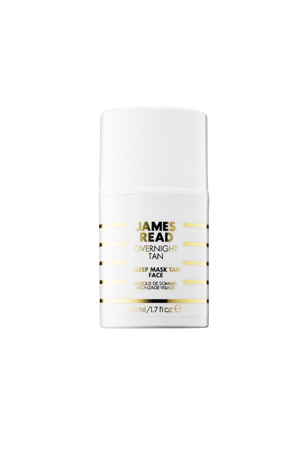 """<strong>Sleep mask tan for the face by James Read</strong><br><br> """"This is an awesome product, and that's coming from someone who vetoed all forms of faux tan for the better part of the last decade (let's just say my year 12 formal photos have never seen the light of day). It's subtle, weightless and colourless – so your linen stays intact.."""" - <em>Anna Lavdaras, beauty writer</em> <br><br> $38, <a href=""""http://www.sephora.com/sleep-mask-tan-face-P391995"""">Sephora</a>"""