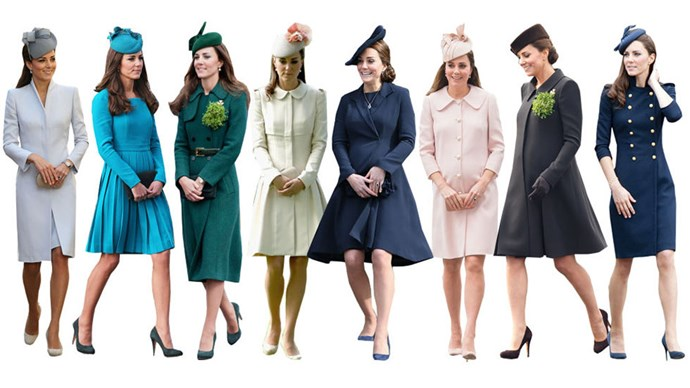 <strong>MATCHING FASCINATORS</strong><br><br> Fascinators are part of British blood and heritage, so it's no surprise that Kate often wears one. Since they're usually colour coordinated with her outfits, we can only imagine her vast collection looks like a rainbow.