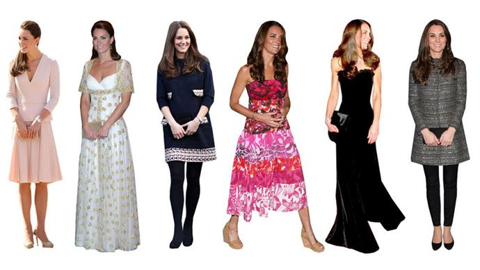 <strong>WILD CARDS</strong><br><br> Every now and then, Kate will surprise us with an outfit that doesn't feel quite right. Remember when your mum turned on the light while you were sleeping and your eyes had to quickly adjust? That's how seeing the Duchess in a tube top dress makes us feel. It's not bad or inappropriate — far from it — but it's certainly unexpected.