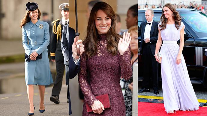 Kate Middleton's style can be summed up in one simple formula.