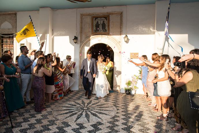 <strong>On their vision for the day:</strong> <br><br> We wanted the wedding to be relaxed, summery and a night full of dancing!