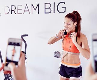 Kayla Itsines workout video