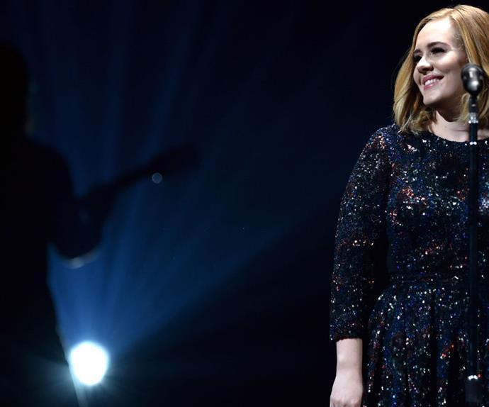 Adele proposal concert