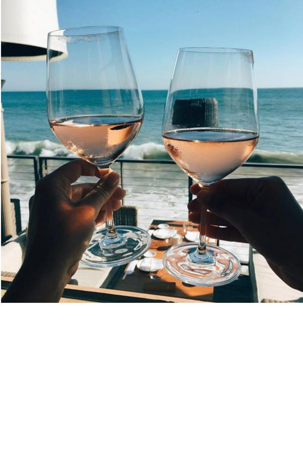"""<strong>Enjoy That Delicious Glass of Wine</strong> <br><br> """"My girlfriends are always in search of the best low-cal cocktail, but in my opinion, spritzers are a waste of wine! Grab a bottle of the good stuff and have a delicious glass instead of several watered-down mixed drinks,"""" suggests Michelle Shepherd, R.D., owner of <a href=""""http://westcoastnutrition.ca/about/"""">Westcoast Nutrition</a> in British Columbia. Enjoying the rich, full flavour is not only more satisfying, but it also teaches you the healthy habit of ensuring your calories are worth the taste. And don't even think about giving up your beloved glass altogether—it won't help. <a href=""""http://archinte.jamanetwork.com/article.aspx?articleid=415737"""">A study</a> from Harvard followed 20,000 women and found that over 13 years, wine drinkers were more likely to lose weight than abstainers. Even better: Those who drank one to two glasses of red wine a day were 70 per cent less likely to be obese. Cheers to that! <br><br> Image: <a href=""""https://www.instagram.com/tashoakley/?hl=en"""">@tashoakley</a>"""
