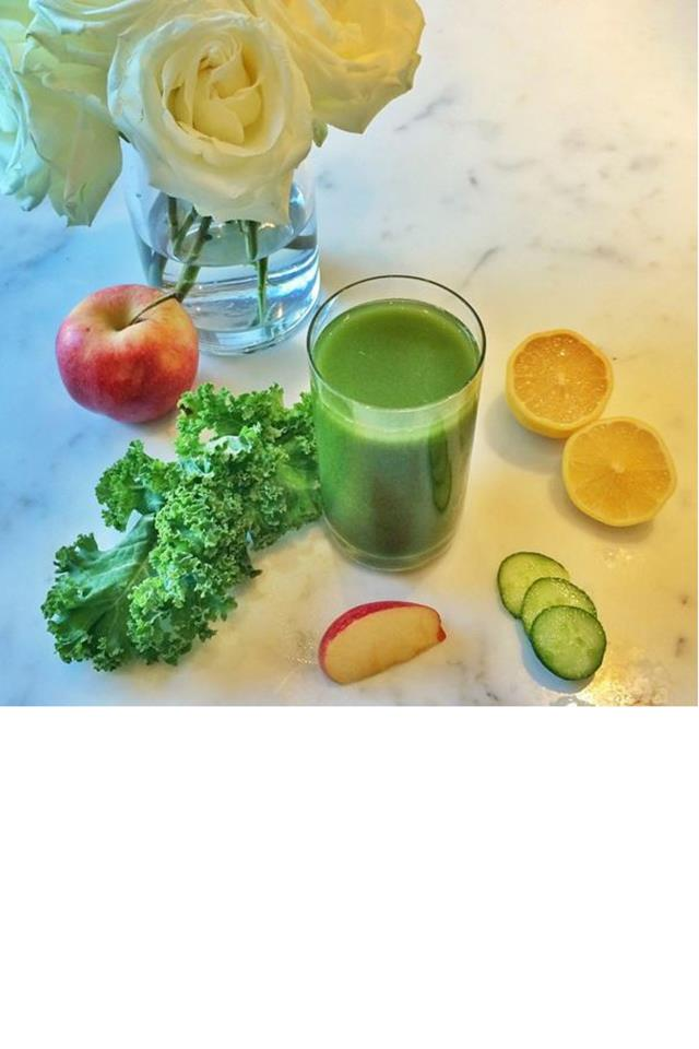 "<strong>4. JUICE CLEANSE TO REST</strong><BR><BR> ""[Gisele's] totally into juice cleanses, so she'll do about one per year,"" Young revealed. Young's juice cleanses include ""delicious, nutritious juices, superfood smoothies, cleansing and detoxifying teas, coconut water, and reviving potassium broth,"" according to her <a href=""http://www.thehealingcuisine.com/"">website</a>.<br><br> Image: <a href=""https://www.instagram.com/gisele/?hl=en"">@gisele</a>"