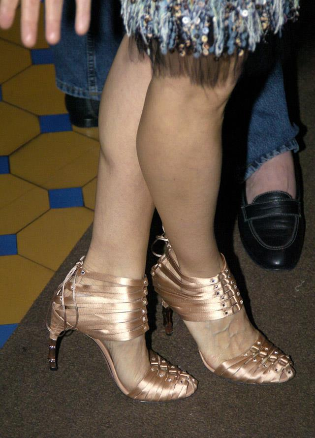 <strong>2004</strong> <br><br> SJP's feet attend a Sex and the City behind-the-scenes event.
