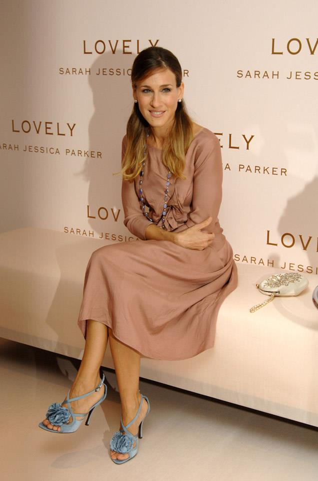 <strong>2005</strong> <br><br> Looking lovely at the launch of her Lovely by Sarah Jessica Parker fragrance