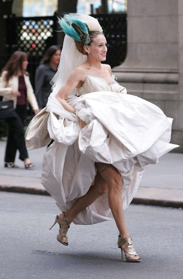 <strong>2007</strong> <br><br> Hey, no one's happy when someone gets left at the altar, but just think: If Big hadn't chickened out on Carrie, she wouldn't have had to her to lift her dress and run away, meaning we'd never get to see these glorious shoes.