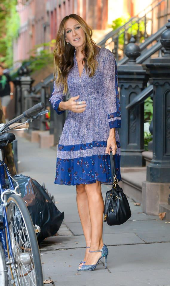 <strong>2015</strong> <br><br> Just another day in the fabulous, shoe-filled life of SJP.