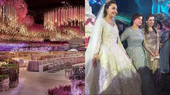 How do Russian billionaires marry, you ask? Pure extravagance.