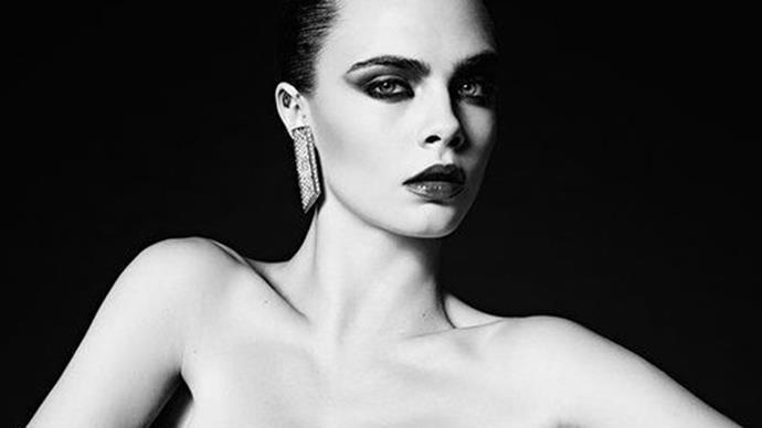 Cara Delevingne Returns to Modelling for Saint Laurent