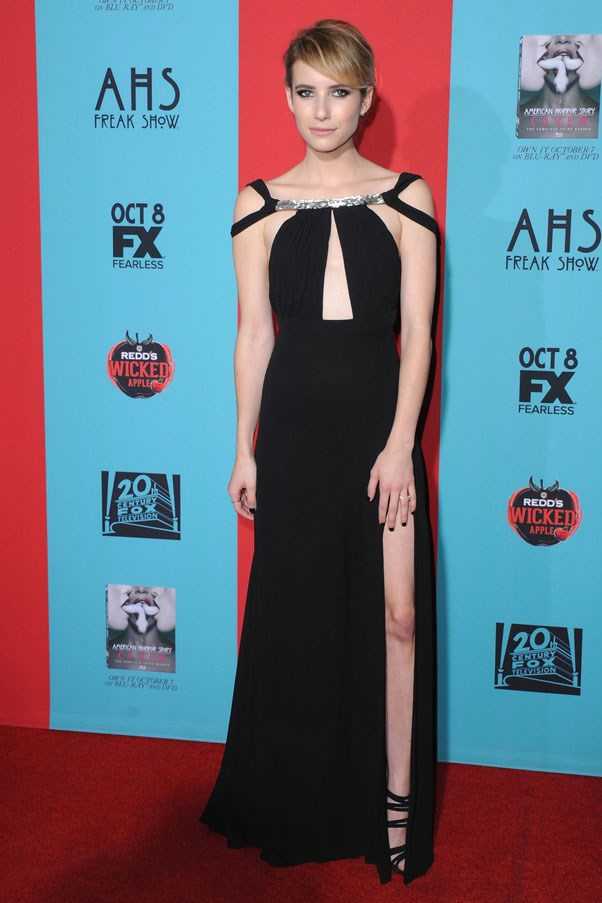 <strong>Emma Roberts</strong> <br><br> 'American Horror Story: Freak Show' Premiere in California, 2014