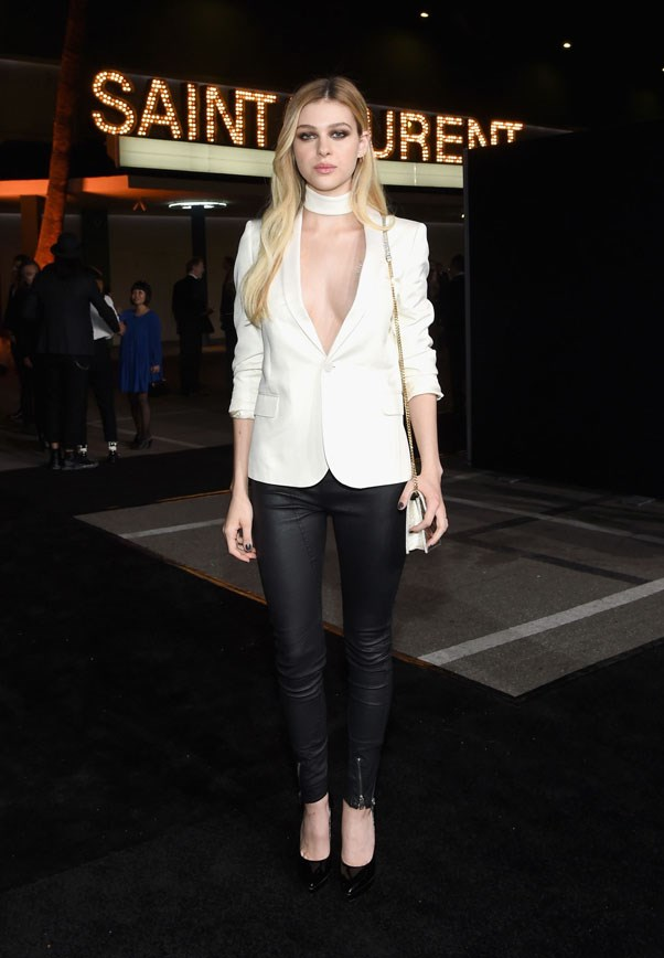 <strong>Nicola Peltz</strong> <br><br> SAINT LAURENT at the Palladium, 2016