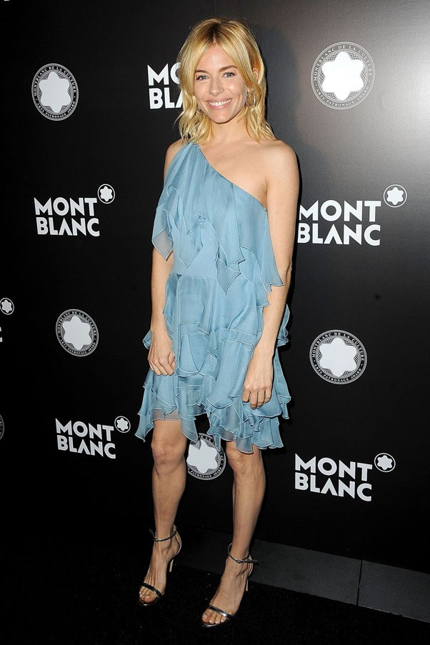 <strong>Sienna Miller</strong> <br><br> 24th Anniversary Year Of Montblanc De La Culture Arts Patronage Awards in New York, 2015