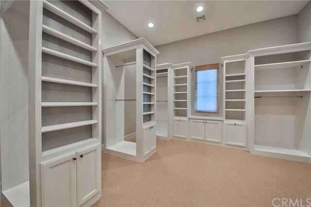 The master closet leaves little to be desired.