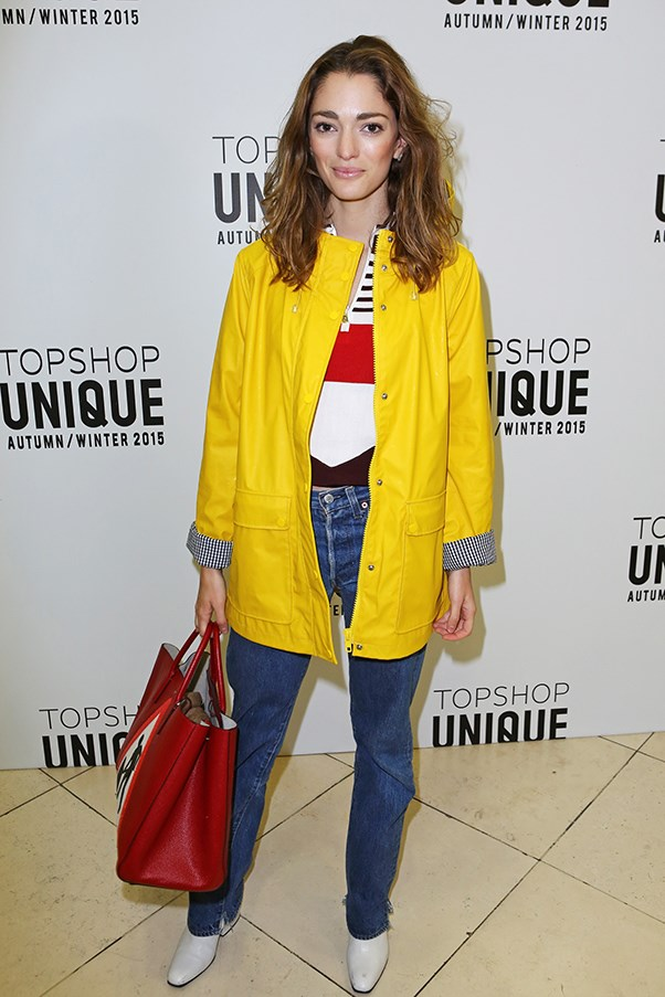 <strong>What little rituals/habits do you do when in the air to make the trip more comfortable?</strong><br><br> Reading is key for a good sleep, book or magazine. <br><br> At Topshop Unique A/W 2015