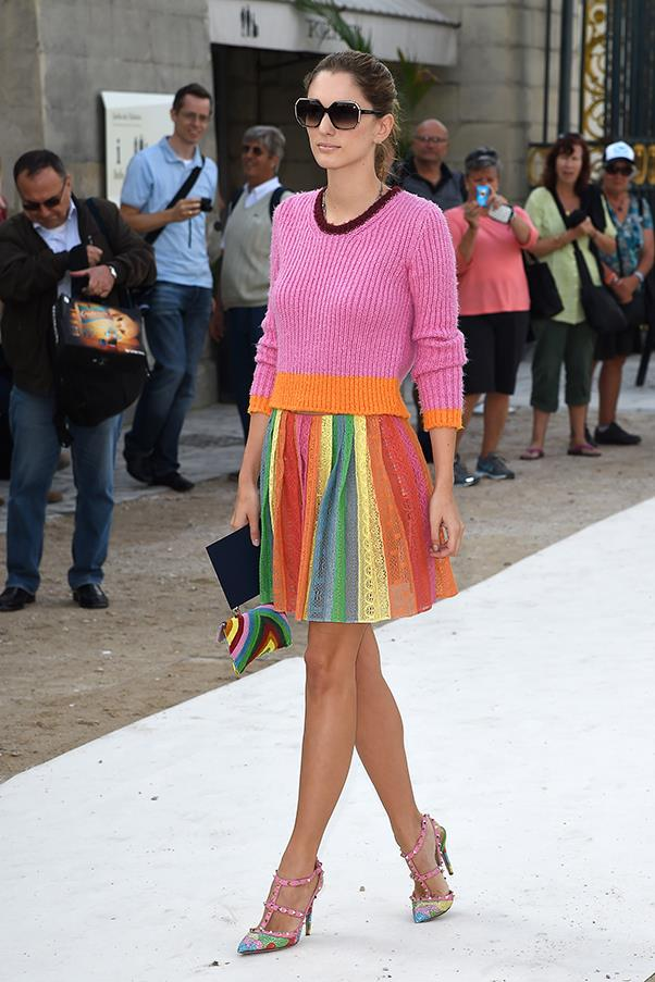 <strong>Who is your ultimate travel style icon?</strong><br><br> My mother! <br><br> At Valentino S/S 2015
