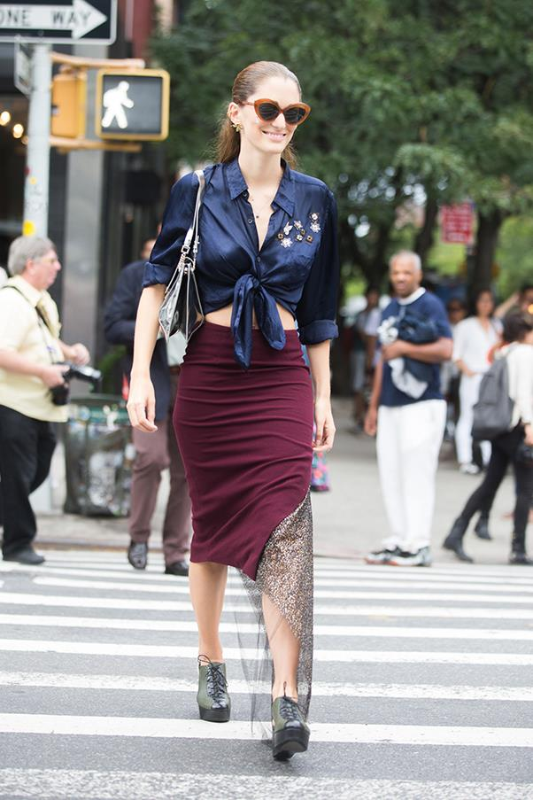 <strong>If you could fly anywhere in the world for lunch, where would you go?</strong><br><br> Antarctica.<br><br> At New York fashion week S/S 2015