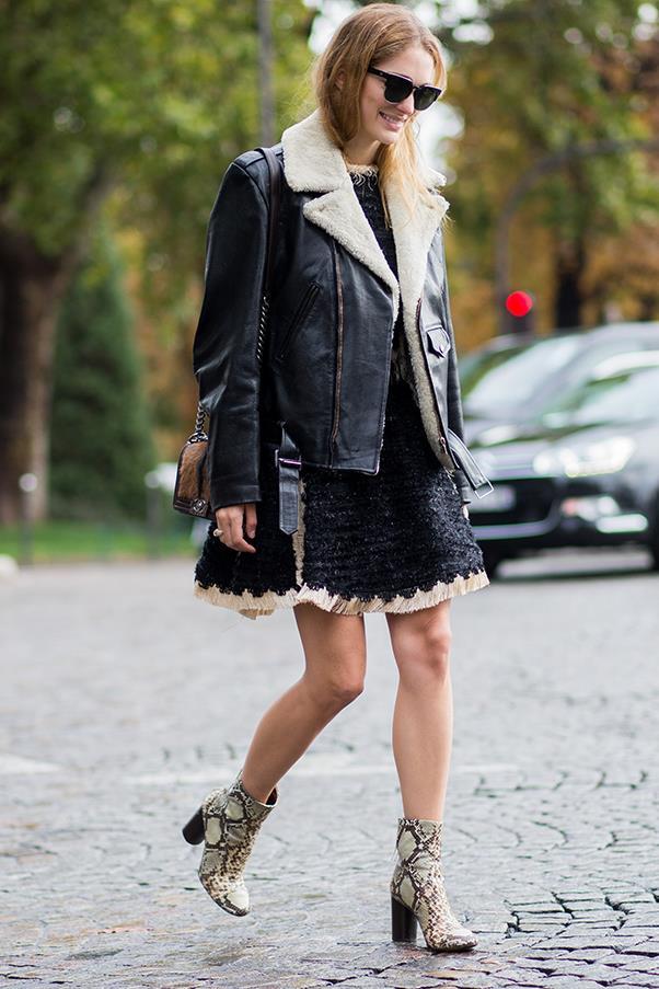 At Paris fashion week S/S 2016
