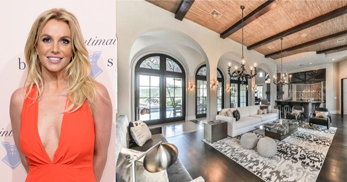 After purchasing another AUD $9.7 million Californian home at the end of last year, Britney is putting her old mansion on the market.