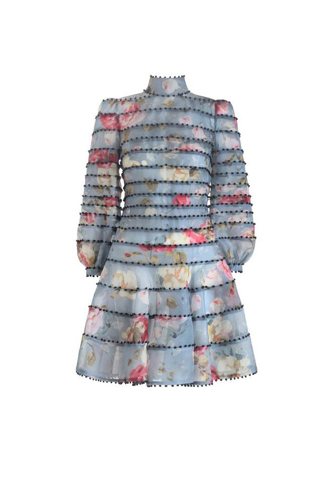 """<strong>Pair with:</strong> <br><br> A frock with a sleeve. <br><br> Dress, $2,200, <a href=""""https://www.zimmermannwear.com/readytowear/clothing/dresses/havoc-pearl-dress-floral.html"""">Zimmermann</a>"""
