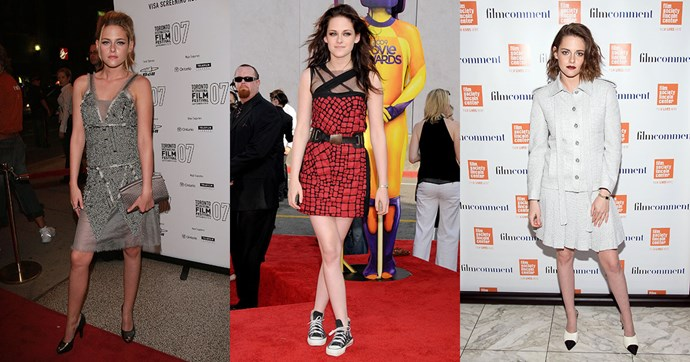 On her 26th birthday, we're looking at the style evolution of Kristen Stewart.