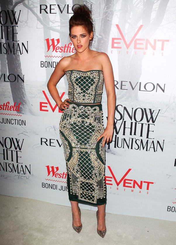 <strong>JUNE 19, 2012</strong> <BR><BR> At the 'Snow White and The Huntsman' Premiere in Sydney