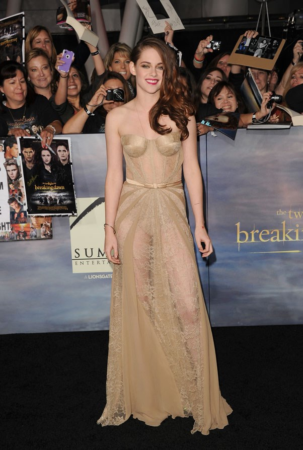 <strong>NOVEMBER 12, 2012</strong> <br><br> At the LA Premiere of 'Breaking Dawn: Part 2'