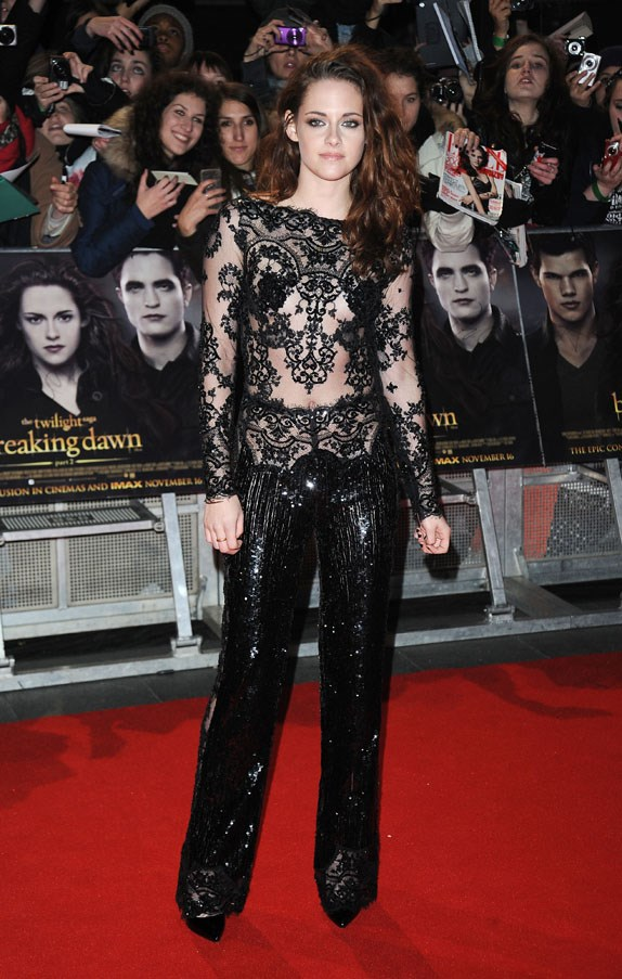 <strong>NOVEMBER 14, 2012</strong> <BR><BR> At the UK Premiere of 'Breaking Dawn: Part 2'