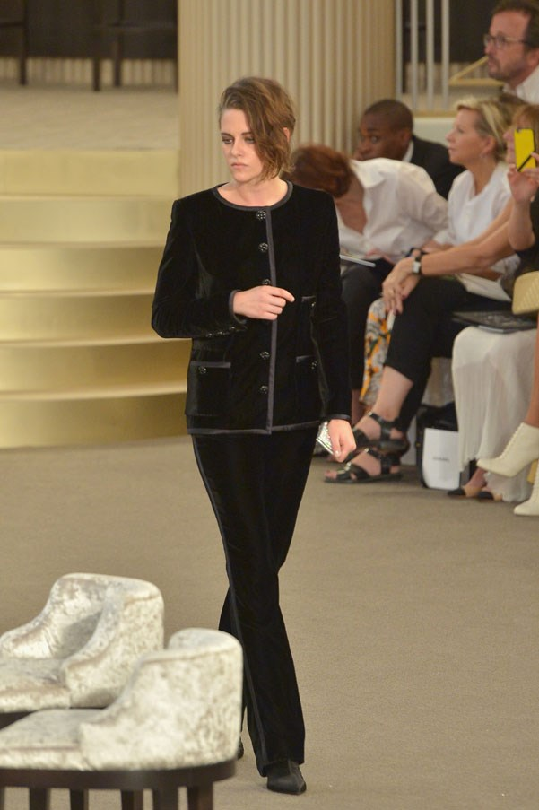 <strong>JULY 7, 2015</strong> <BR><BR> Paris Fashion Week, front row at Chanel