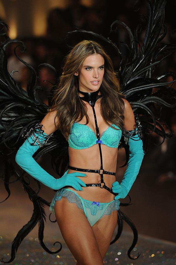 At the Victoria's Secret fashion show, 2013