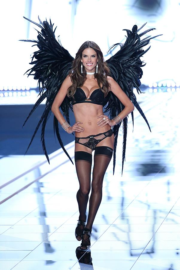 Walking in the Victoria's Secret fashion show, 2014