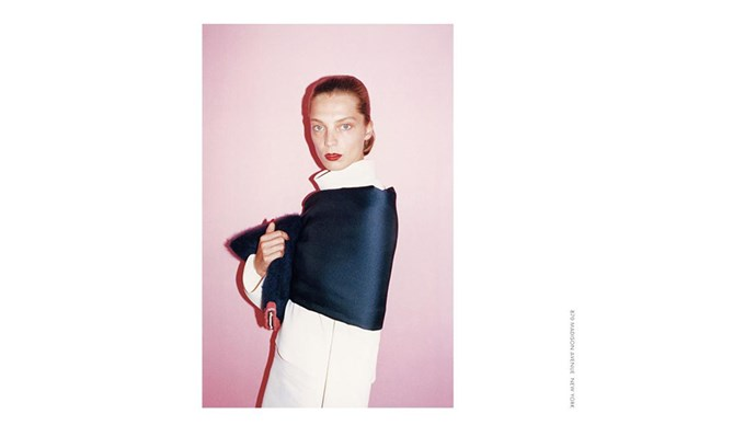 <strong>Céline A/W 2013</strong><BR><BR> Shot by Juergen Teller<br> Hair by Jimmy Paul<br> Set design by Andy Hillman