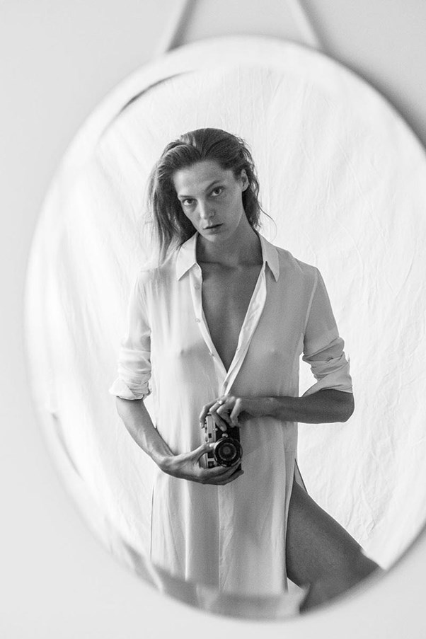 <strong>Equipment A/W 2015</strong><br><br> Shot and styled by Daria Werbowy