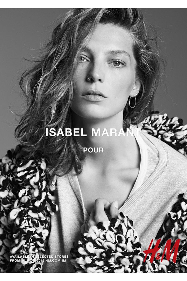 <strong>Isabel Marant for H&M A/W 13</strong><br><br> Shot by Karim Sadli<br> Hair by Damien Boissinot<br> Makeup by Christelle Cocquet<br> Set design by Alexander Bock