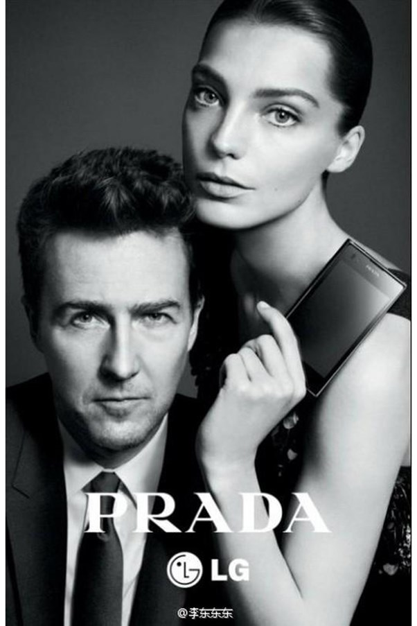 <strong>Prada x LG S/S 2012</strong><br><br> Shot by David Sims<br> Hair by James Pecis<br> Casting by Ashley Brokaw<br> Starring Edward Norton
