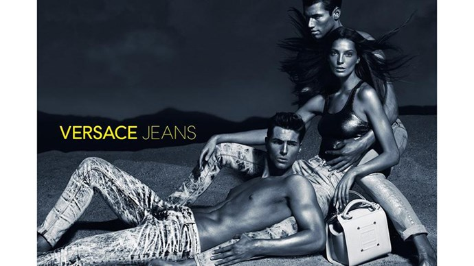 <strong>Versace Jeans S/S 13 </strong><br><br> Shot by Mert Alas and Marcus Piggott<br> Creative direction by Giovanni Bianco<br>