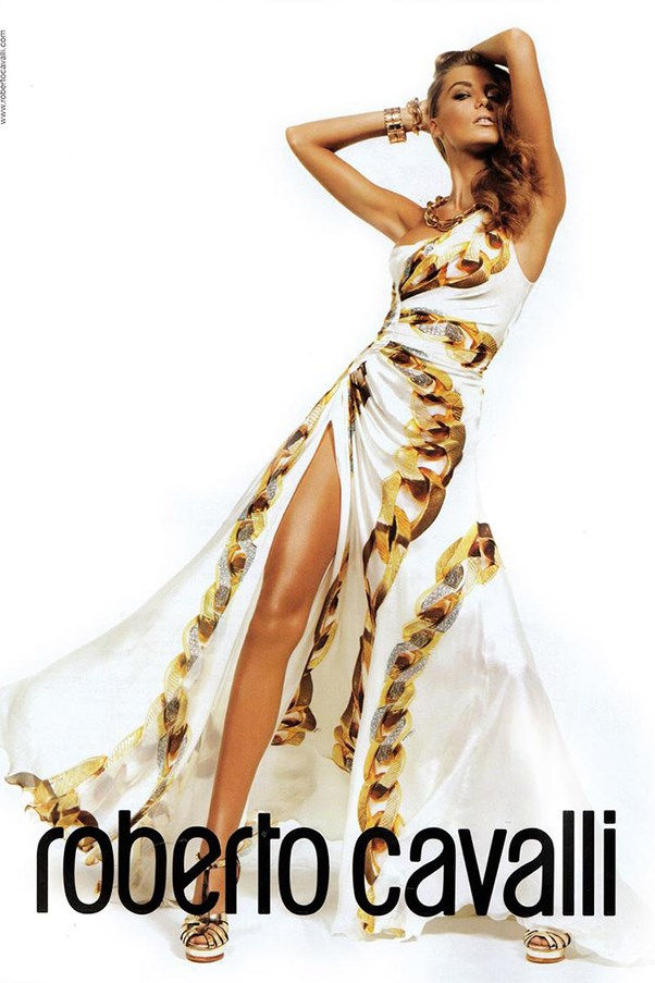 <strong>Roberto Cavalli S/S 2009</strong><br><br> Shot by Inez and Vinoodh