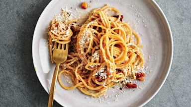 Recipe Residency: Gwyneth Paltrow's Carbonara