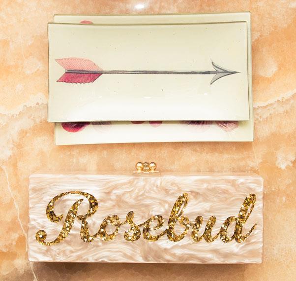 Nothing says Rosie like luxury personalised accessories.