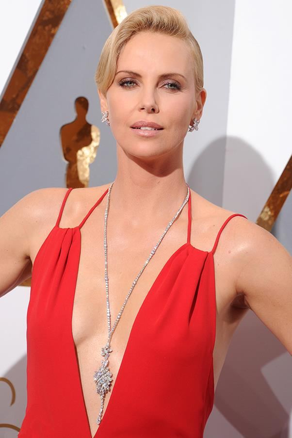 """This is a good time for us to bring this to a place of fairness, and girls need to know that being a feminist is a good thing. It doesn't mean that you hate men. It means equal rights. If you're doing the same job, you should be compensated and treated in the same way."" —Charlize Theron, in the June 2015 issue of <em><a href=""http://www.elleuk.com/now-trending/charlize-theron-elle-cover-june-2015"">ELLE UK</a></em>"