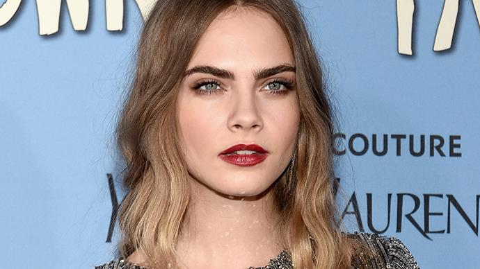 Cara Delevingne Is the New Face of Rimmel