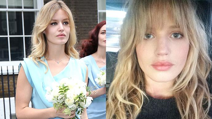 <strong>Georgia May Jagger</strong><BR><bR> The model/member of rock royalty debuted a chic set of Jane Birkin-esque bangs on Instagram overnight. We're a fan.