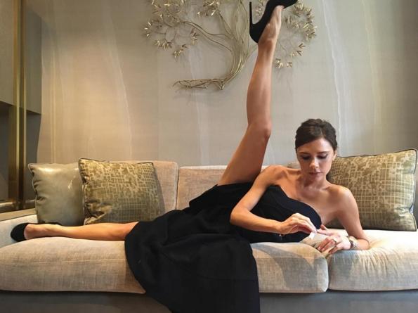 Victoria Beckham Funny Instagrams