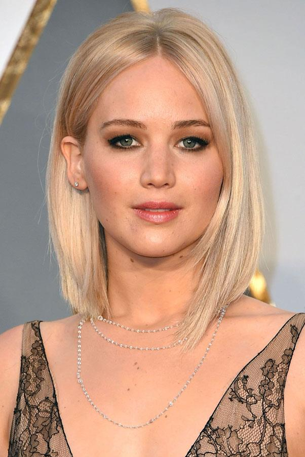 "<strong>Jennifer Lawrence</strong> <br><br> ""I exfoliate regularly and have found it to be an integral part of my skincare routine. I probably exfoliate twice a week. For my face, I use St. Ives Apricot Scrub, which I think many can agree is a go-to scrub."" <br><br> <a href=""https://www.priceline.com.au/st-ives-fresh-skin-invigorating-apricot-scrub-150-ml""><em>St. Ive's Invigorating Apricot Scrub</a>, AUD $7.99</em>"